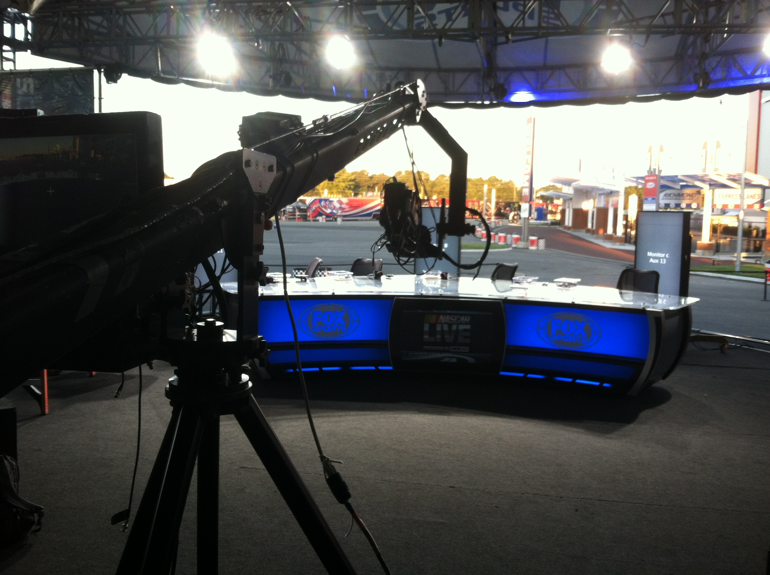 FOX Sports 1 stage for NASCAR